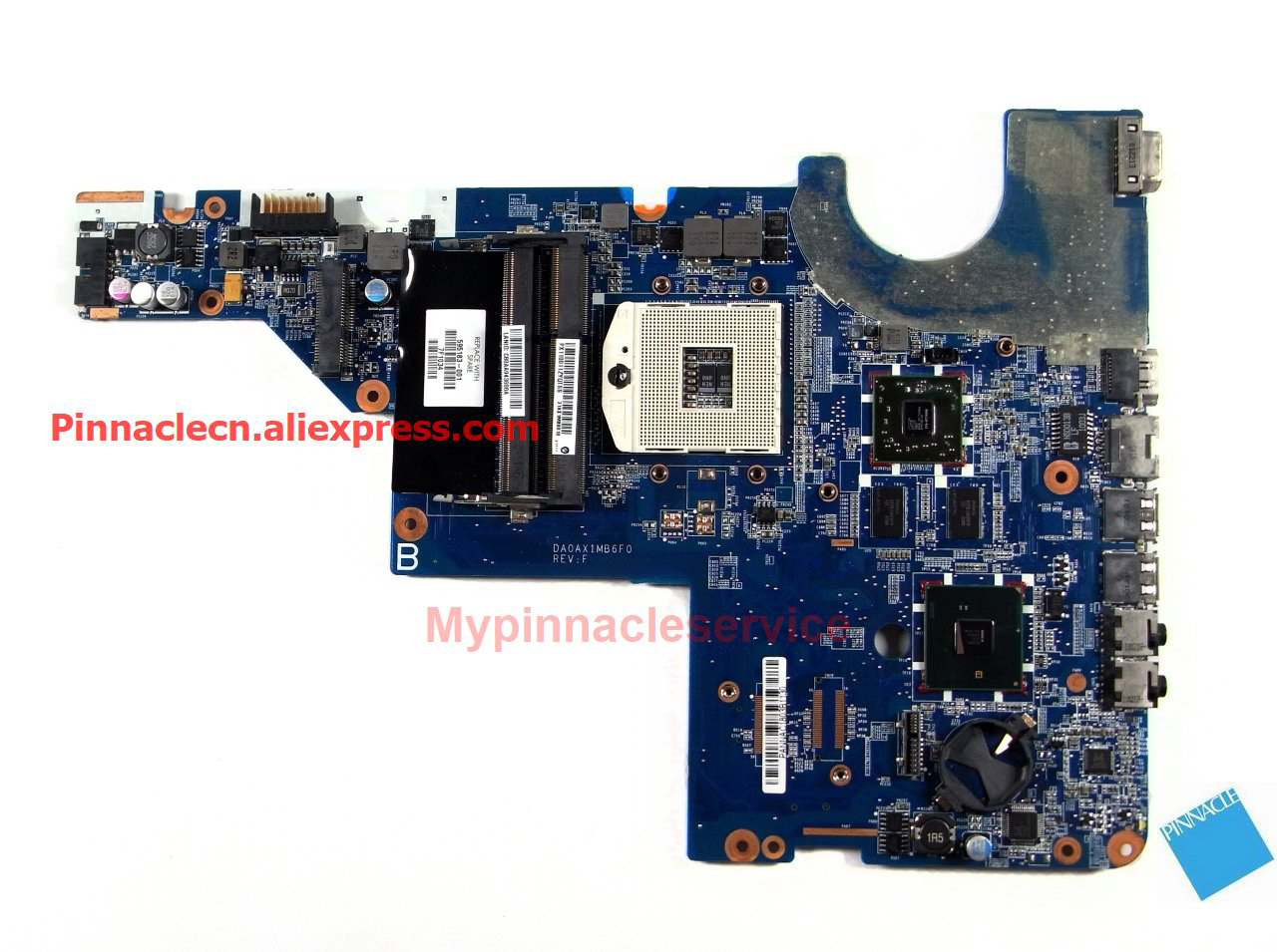 595183-001 Motherboard for HP CQ42 G42 G62 G62 G72 DA0AX1MB6F1