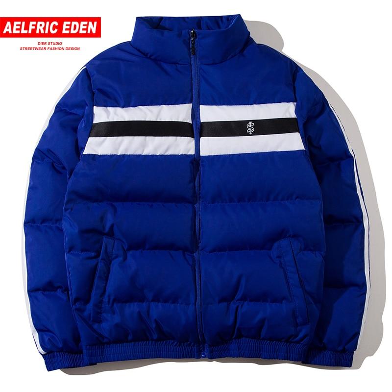 Aelfric عدن الشتاء سترة معطف 2018 اللون كتلة ستر الرجال الهيب هوب سترة واقية الدافئة سميكة عارضة الشارع الشهير سترة جاكيتات SP15-في سترات فرائية مقلنسة من ملابس الرجال على  مجموعة 1