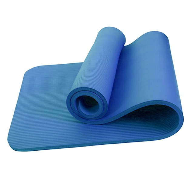 183x61x1cm Yoga Mat NBR Lengthen Thick Anti Slip Elastic Lightweight Portable Double Sided Baby Crawling Pad Picnic Gym Mat