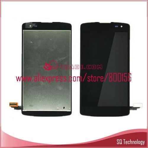 imágenes para Para lg optimus f60 d392/l fino d290 d295 d290n Pantalla LCD con Pantalla Táctil Digitalizador Asamblea Color Negro Envío Gratis
