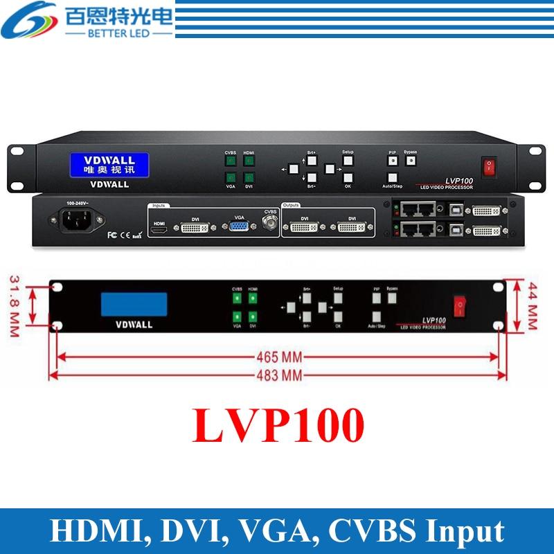 VDWALL LVP100 Support 1920*1080 pixels LED display Video Processor