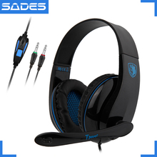 SADES TPOWER Stereo Sound Entry Level Gaming Headset Noise Cancelling Headphone For PC With Rotatable Microphone цена и фото