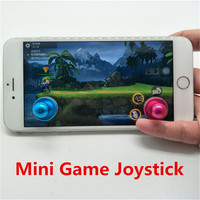 2pcs Hot Sale Joystick Joypad Arcade Game Stick Aluminum Alloy Mobile Phone Gaming Joystick For iPad For Android Touch Tablets