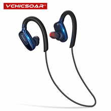 цена на S5 Sports Ear-hook Wireless Bluetooth Earphone Stereo Music Earbuds Headset Bass headphones with Mic for iPhone X Smart Phone