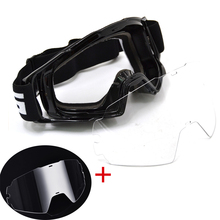 BJMOTO Gafas para Motocross, Gafas para Motocross, todoterreno, ATV, casco de motocicleta, Gafas resistentes al viento
