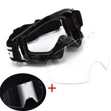 BJMOTO Motocross Brille Gläser Dirt Bike ATV Off Road Motorrad Gafas Moto Helm Googles Anti Wind Brillen MX Brille