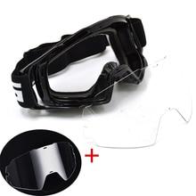 BJMOTO Motocross Goggles Glasses Dirt Bike ATV Off Road Motorcycle Gafas Moto Helmet Googles Anti Wind Eyewear MX Goggles