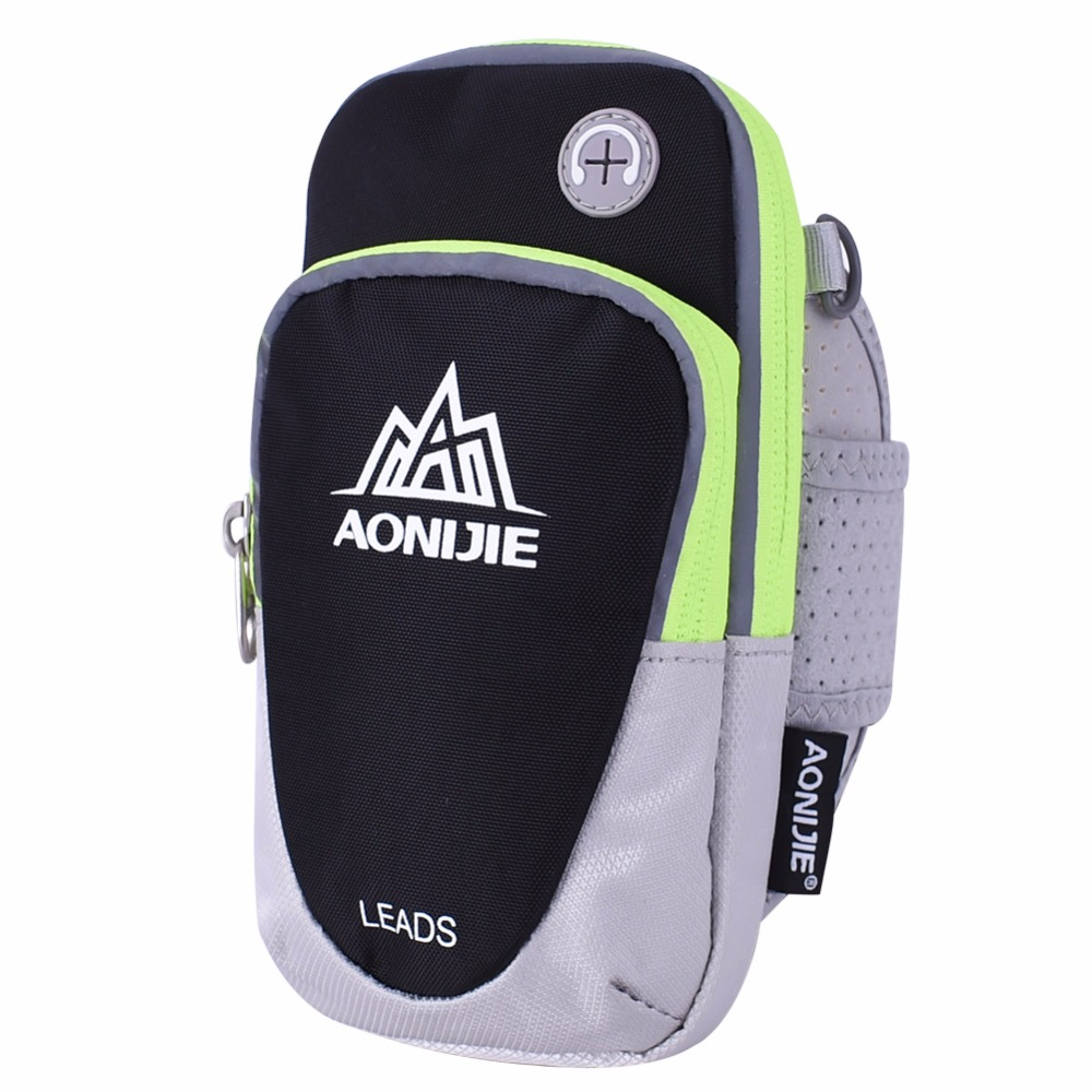 AONIJIE Men Women Running <font><b>Arm</b></font> Pack Lightweight Outdoor Sports Racing Hiking Camping Mountaineering Gym Fitness <font><b>Mobile</b></font> <font><b>Phone</b></font> <font><b>Bag</b></font>