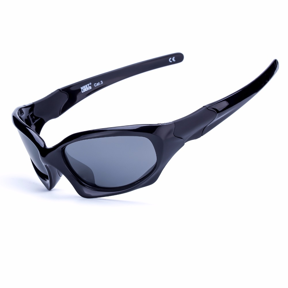 MEETLOCKS Bike Sports Sunglasses Polarized Lens for Golfing Driving Running Road Cycling Glasses With Fingertip Gyro for Gift
