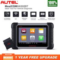 Autel MaxiCOM MK808BT OBD2 Scanner Car Diagnostic Tool Full System Diagnosis Code Reader Tester ODB2 Key Programmer Immobilizer
