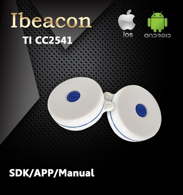 2016 Ble 4 0 faro Pequeño Certificado Bluetooth Ibeacon Impermeable con SDK y APP para la Navidad
