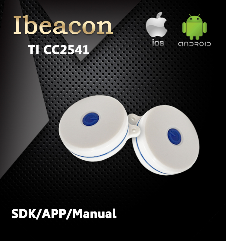 2016 Ble 4 0 beacon Small Certified Bluetooth Ibeacon Waterproof with SDK and APP for Christmas
