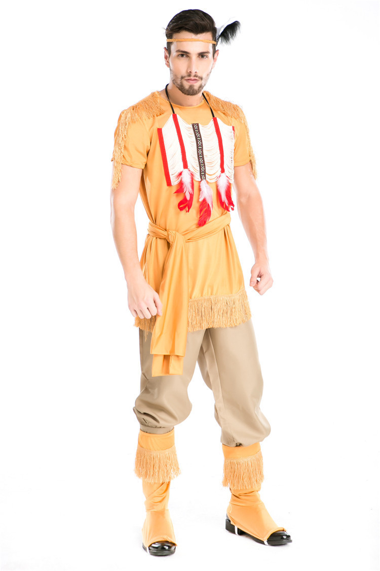 Halloween Costumes Adult Men Indian Hunter Archers Costume Uniform Fancy Cosplay Clothing for Men-in Holidays Costumes from Novelty u0026 Special Use on ...  sc 1 st  AliExpress.com & Halloween Costumes Adult Men Indian Hunter Archers Costume Uniform ...