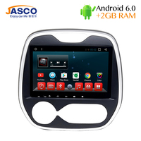 Jasco 9 Car DVD Player Android 6 0 GPS Navigation For Renault Captur Comfortable Multimeida Player