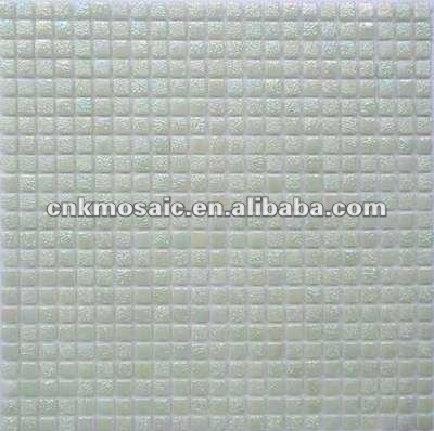 SC33 12*12 Light Jade Color Pearl Glass Mosaic Tile