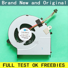 Ventilador de refrigeração laptop, radiador refrigerador para satélite toshiba l50 L50-B L55-B L50D-B L55T-B fcn 'ffd6 fabli00eua