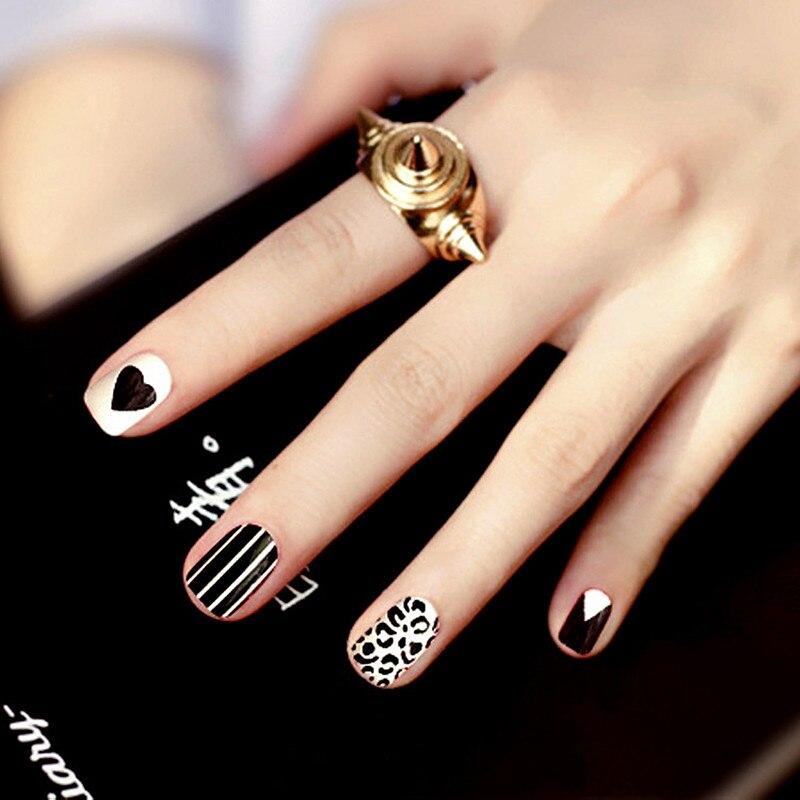 Magnificent Short Black Nails Fashion Gift - Nail Polish Ideas ...