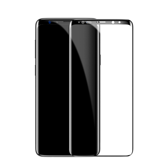 Tempered Glass with Black Frame for Samsung