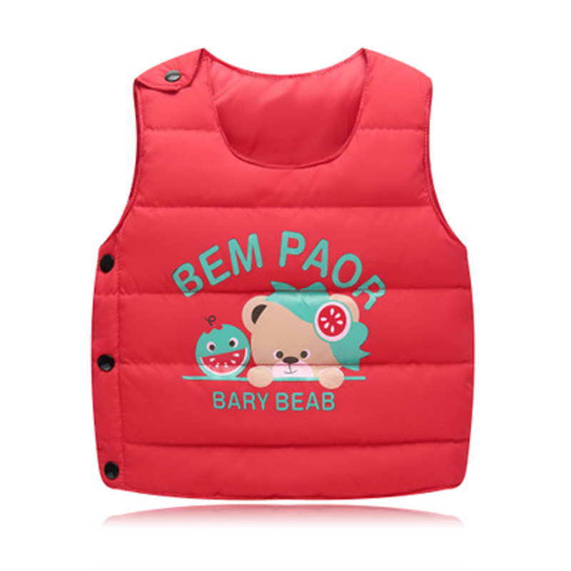 Children's Clothing For Boy Girls Outerwear Girl Coats Boys Vests Baby Clothes Kids Waistcoats