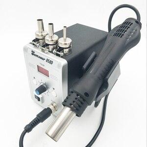 Image 2 - סוג חדש אוויר חם אקדח 858D הסרת הלחמה Reflow הלחמה SMD110V/220V 700W עבור ריתוך תיקון כלים