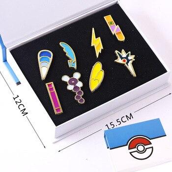 Набор аниме брошек Покемоны в ассортименте