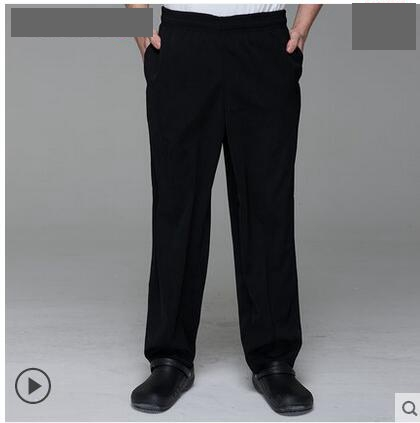 Us 21 99 Chefs Work Pants Restaurant Waiter Overalls Hotel Uniform Pants Black Pants Of The Chef Uniform Pants Man Kitchen In Bottoms From Novelty