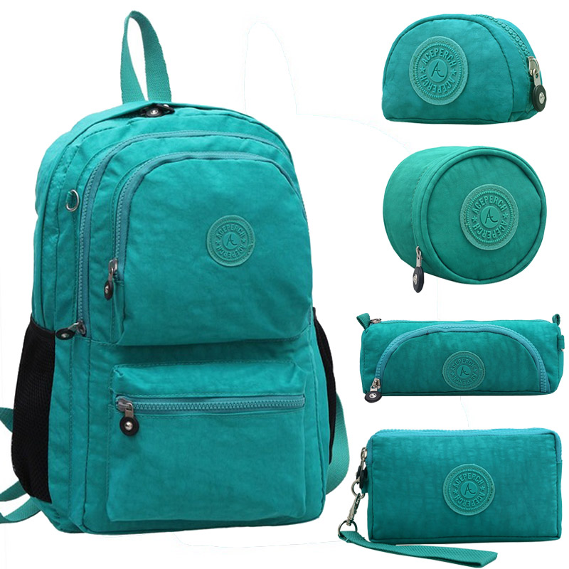 ACEPERCH Femelle Mochila Escolar Feminina Multifonction Kipple School Girl Sac pack Nylon Imperméable Sacs À Dos Femme Sac 2018