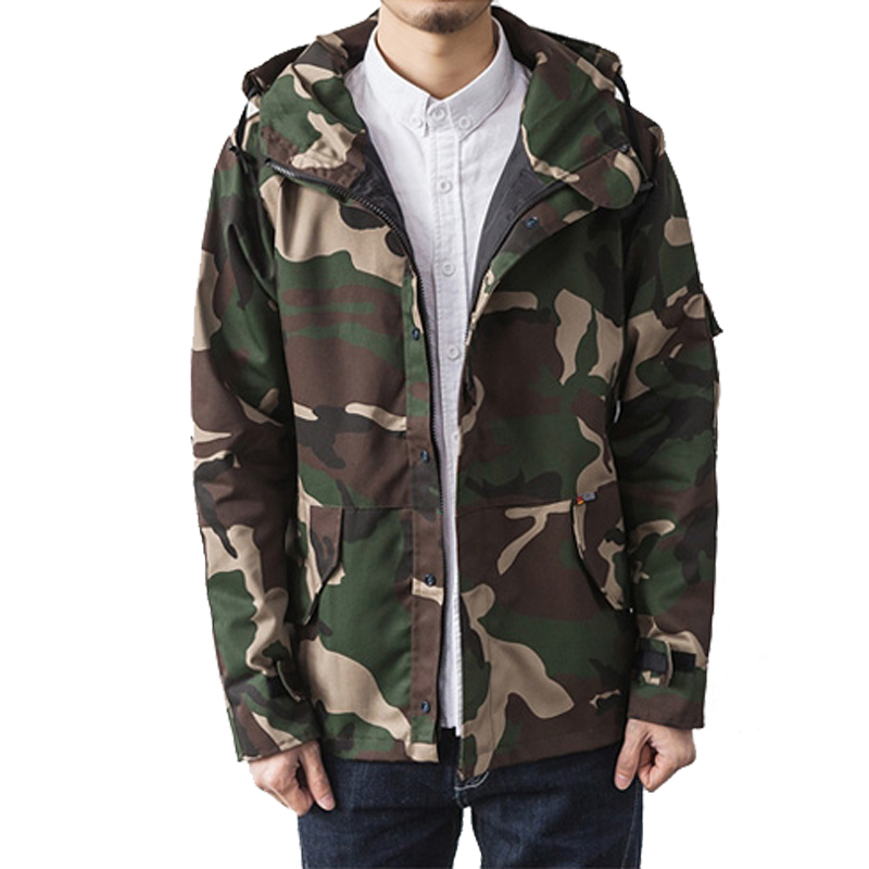2017 New Arrival Mens Casual Camouflage Jacket Military Style Men Camo Jackets and Coats Man Tactical Outerwear Size M-XXL