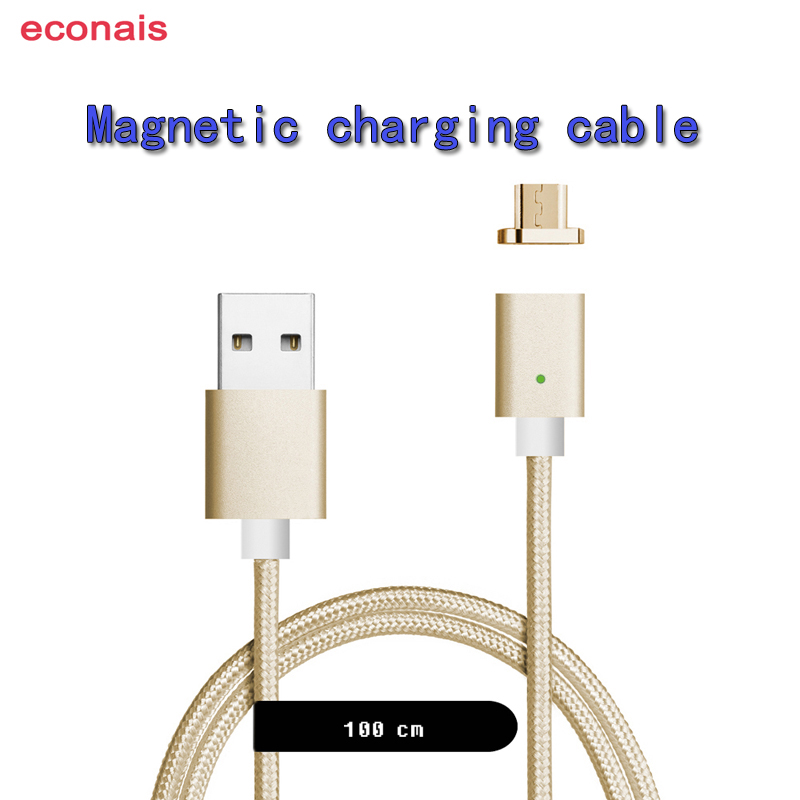 econais Magnetic Charger for Xiaomi Redmi Note2 Redmi Note3 Note4 Magnetic Cable for Redmi 5 Redmi 5Plus Magnetic USB Cable