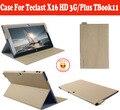 """Чехол Для Teclast X16 x16HD Плюс TBook11 10.6 """"PC, PU Чехол Для Teclast X16HD X16Plus TBook 11 Tablet Бесплатная Доставка С 4 Подарки"""