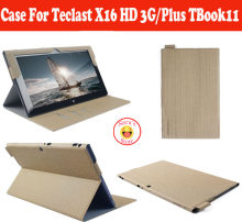 "Case Voor Teclast x16HD X16 Plus TBook11 10.6 ""PC, PU Case Voor Teclast X16HD X16Plus TBook 11 Tablet Gratis Verzending Met 4 Geschenken(China)"