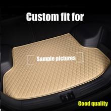 RKAC Custom Car trunk mats for Mercedes Benz SL R230 R231 SLK R171 R172 SLS Smart 2015-2017 BOOT LINER TRUNK CARGO CARPET  MAT