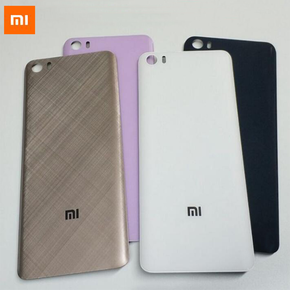 Xiaomi Back-Cover Glass Battery-Door Mi-5 For Housing 3D 100%Original