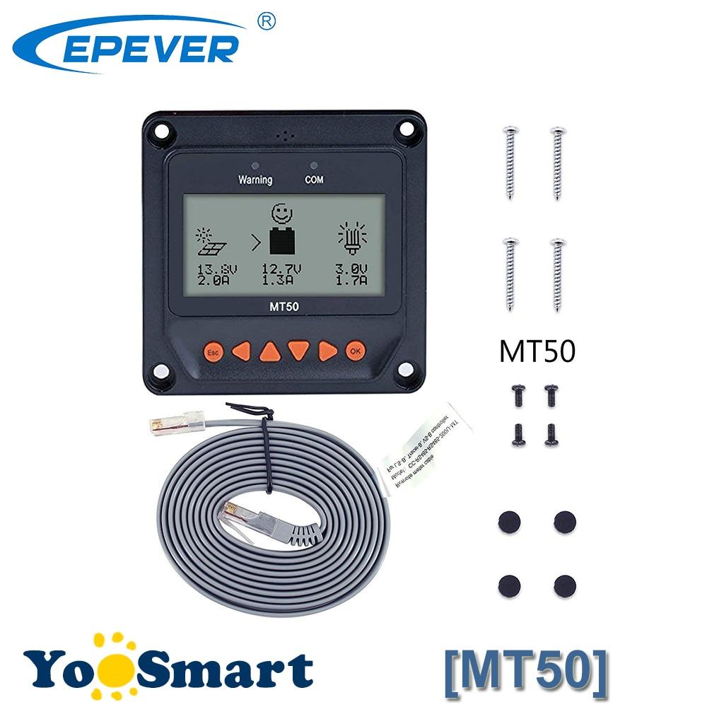 Solaire Contrôleur À Distance Mètre MT-50 pour EPever LS-B LS-BP VS-BN Traceur-BN Traceur-Un eTracer iTracer EPsolar MT50 CE ROHS