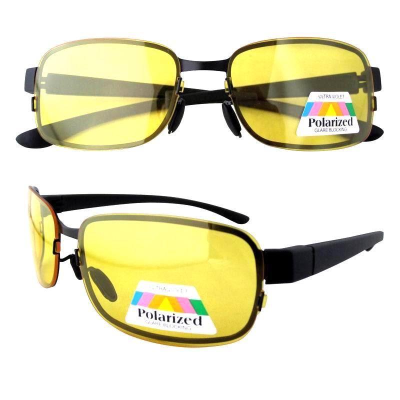 P11062 Polarizada 1.1mm Lente Amarela Óculos de Sol Óculos de Visão Noturna  Noite Óculos de Condução 5ec41d6ad9