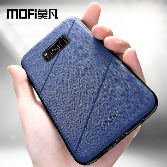 MOFi Samsung Galaxy S8 S8 Plus Luxury Business Style Back Case Cover