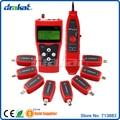 Nova! Multifuncional cabo Tester fio rastreador com 8 pcs RJ45 RJ11 BNC adaptador