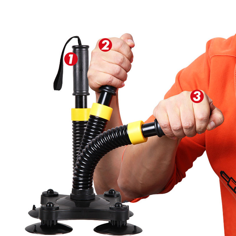 Men Arm Muscle Training Device Fitness Equipment Powerful Strong Wrist Exercise Trainer Bodybuilding