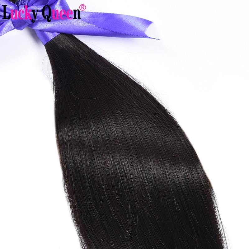 Lucky Queen Προϊόντα για τα μαλλιά Pruvian - Ανθρώπινα μαλλιά (για μαύρο) - Φωτογραφία 4