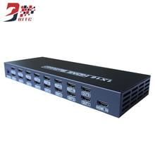 SZBITC 1x16 HDMI Splitter Switcher 1 input 16 output 4K HDMI Distributer 16 Ports Processor For Full HD 1080P 3D