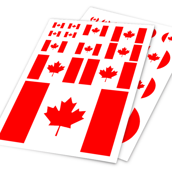 Popular Canada Flag StickersBuy Cheap Canada Flag Stickers Lots - Custom car decals vancouver   how to personalize