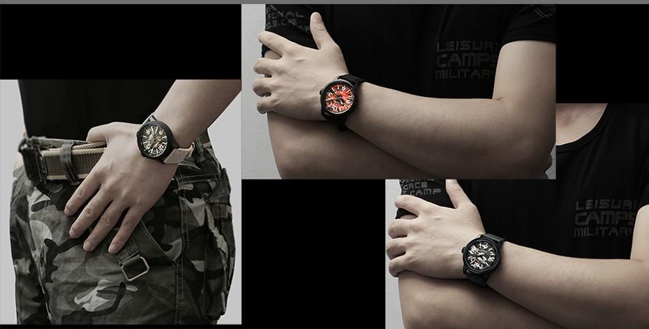 2017 Nouveau NAVIFORCE Hommes Quartz Sport Militaire Montres Hommes De Luxe de Marque De Mode Casual Montre-Bracelet Relogio Masculino Homme Horloge 18