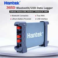 Hantek 365D PC USB Data Logger Record Voltage Current Ohm Cap.Curve Bluetooth with Li battery True RMS Digital Multimeter tester