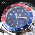 Sewor Brand Watch Men Stainless Steel Sport Skeleton Mechanical Wristwatch Men Male Classic Men Dress Business Gift Watch