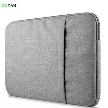Laptop Bag For Macbook Air/Pro 13 Laptop Sleeve Case For Touchbar Pro 13.3 11 12 13 15 Inch Notebook Computer Bag zipper sleeve