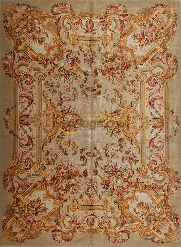 Top Fashion Tapete Details About  12' X16' Hand-knotted Thick Plush Savonnerie Rug Carpet Made To Order MS23ALTgc162savyg9GREEN