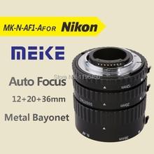 MEKE Meike MK-N-AF1-Al Adaptateur Auto Focus tube Extension Anneau AF pour Nikon D7100 D5200 D3100 D90 D800E D5100 D7000 DSLR caméras