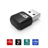 Wavlink Mini USB Wifi Adapter Dongle Wireless Network LAN Card AC600 Dual Band Sync 2 4G