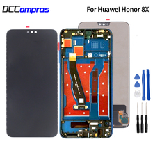For Huawei Honor 8X JSN-L21 JSN-AL00 JSN-L22 LCD Display Touch Screen Digitizer With Frame