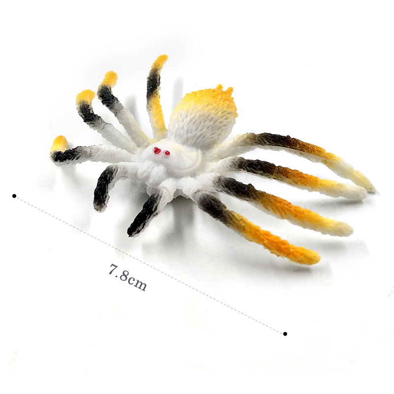 Artificial spider insect figurine animal Model home decor miniature fairy garden decoration DIY accessories modern Craft statue in Figurines Miniatures from Home Garden